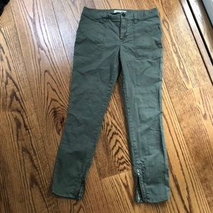 Madewell Skinny Cargo/Fatigue Style Pant